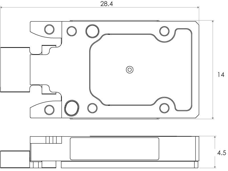 Drawing of SpaceABLE28 SL